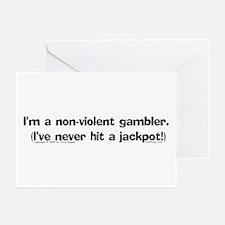 N-V. Gambler Greeting Cards (Pk of 10)