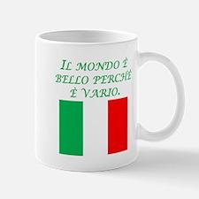 Italian Proverb Diversity Mug