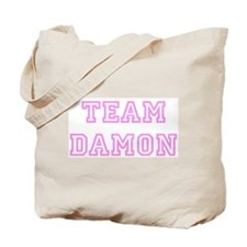 Pink team Damon Tote Bag