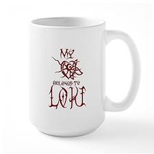 My Heart Belongs to Loki Mug