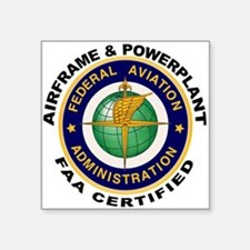 FAA Certified A & P Mechanic Sticker