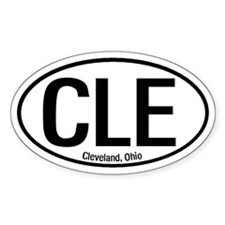 Cleveland, Ohio Oval Decal