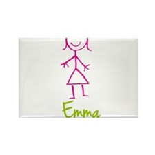 Emma-cute-stick-girl.png Rectangle Magnet
