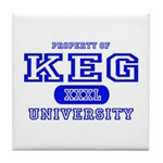 Keg University Property Tile Coaster