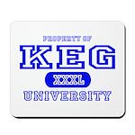 Keg University Property Mousepad