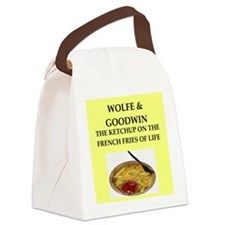 wolfe Canvas Lunch Bag