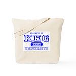 Keg University Property Tote Bag