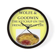 wolfe Wall Clock