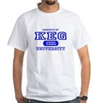 Keg University Property White T-Shirt