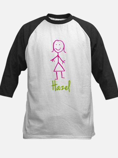 Hazel-cute-stick-girl.png Kids Baseball Jersey