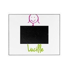 Lucille-cute-stick-girl.png Picture Frame