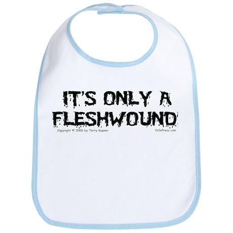 Fleshwound (black) Bib