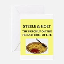 steele and holt Greeting Card