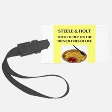 steele and holt Luggage Tag