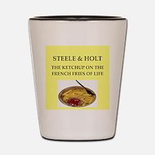 steele and holt Shot Glass