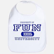 Fun University Property Bib