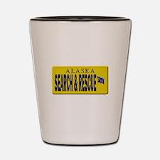 Alaska Search Rescue Shot Glass