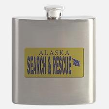 Alaska Search Rescue Flask