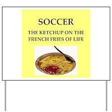 soccer Yard Sign