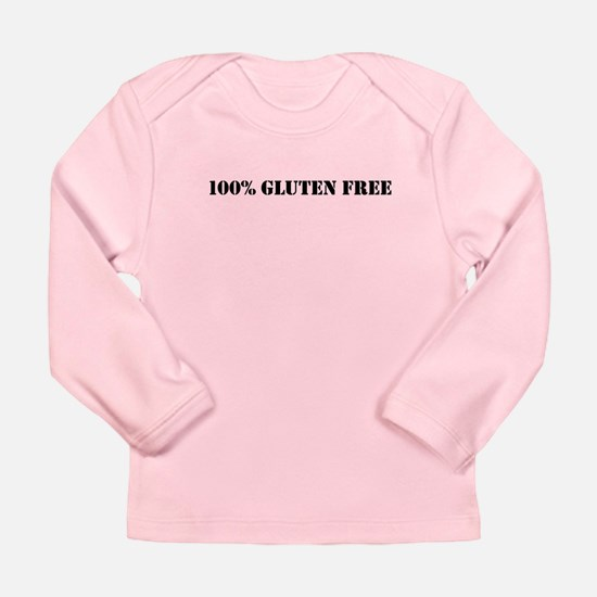 100 % GLUTEN FREE Long Sleeve Infant T-Shirt
