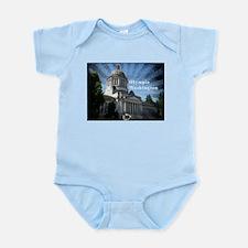 Olympia Washington Infant Bodysuit