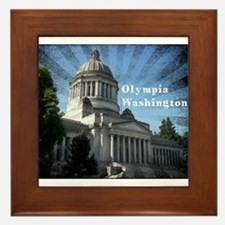 Olympia Washington Framed Tile