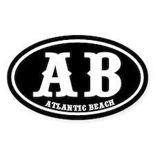 Atlantic Beach Oval Decal