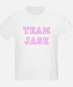 Pink team Jase Kids T-Shirt