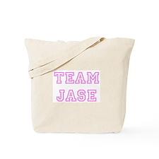 Pink team Jase Tote Bag