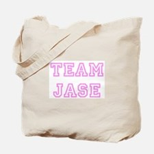 Pink team Jase Tote Bag