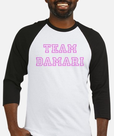 Pink team Damari Baseball Jersey