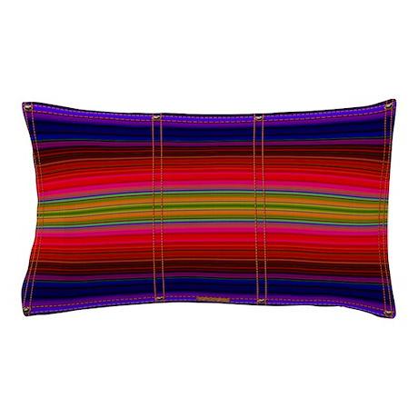 Indian Blanket Print Pillow Case