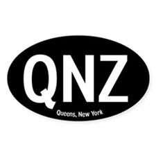 Queens, New York Oval Decal
