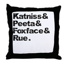 Cute Foxface Throw Pillow