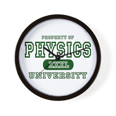 Physics University Wall Clock