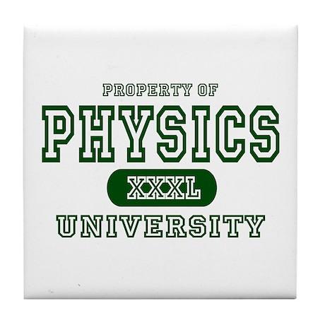 Physics University Tile Coaster