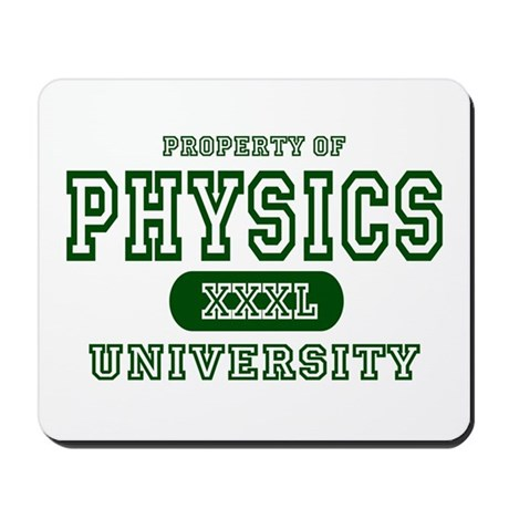 Physics University Mousepad