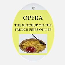 opera Ornament (Oval)