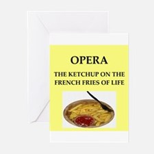 opera Greeting Cards (Pk of 10)