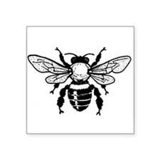 Honey Bee Rectangle Sticker