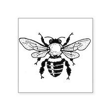 Honey Bee Rectangle Sticker