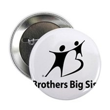 """Big Brothers Big Sisters 2.25"""" Button"""