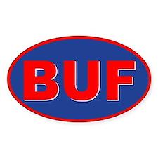 Buffalo, New York Oval Decal