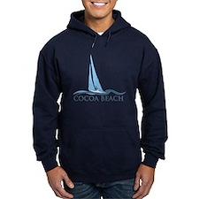 Cocoa Beach - Sail Boat Design. Hoody