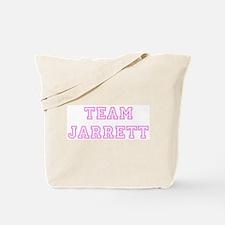 Pink team Jarrett Tote Bag