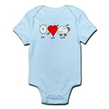 Eye Heart Ewe Infant Bodysuit