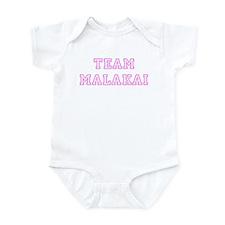 Pink team Malakai Infant Bodysuit
