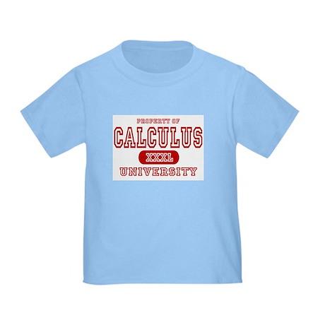 Calculus University Toddler T-Shirt