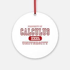 Calculus University Ornament (Round)