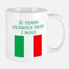 Italian Proverb Time Heals Mug